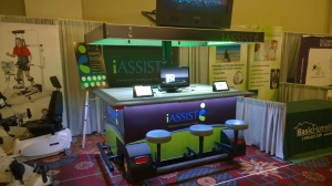 iAssist Mobile Trade Show Booth